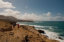 Fuerteventura to idealne miejsce na spacer...