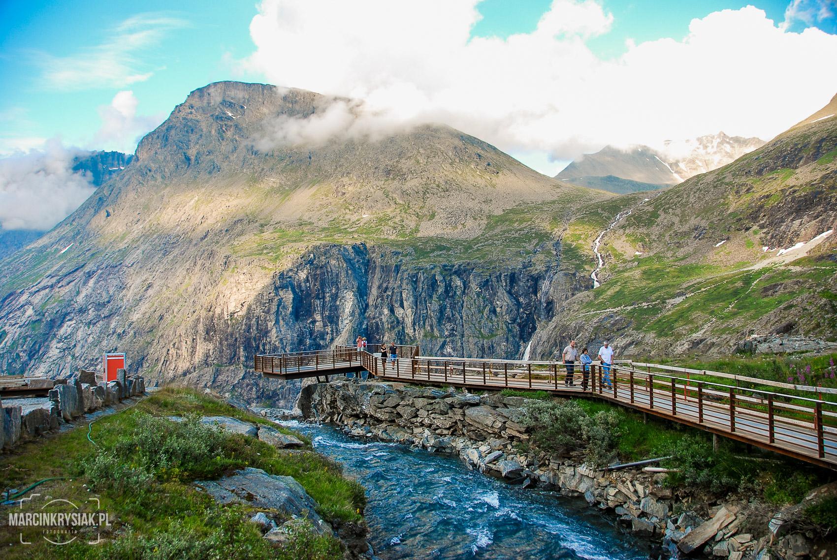 góry, taras, droga trolli, Norwegia