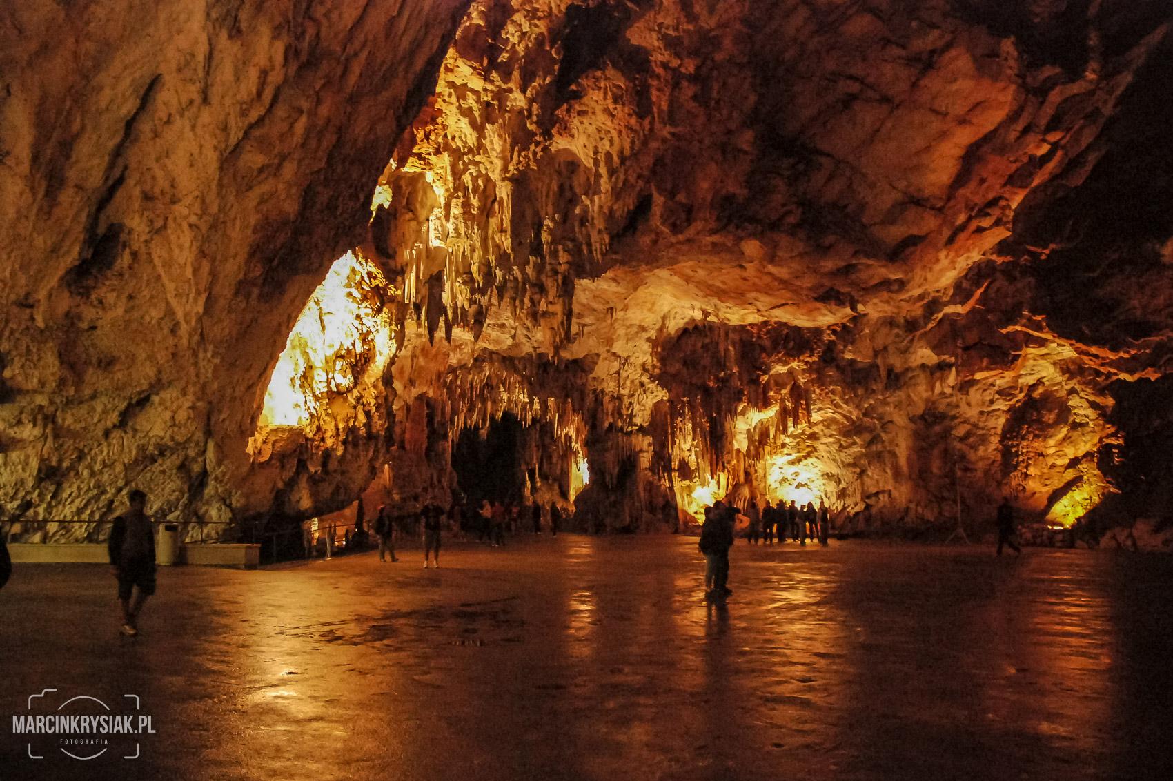jaskinia, Postojna, Jama, Słowenia