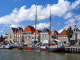 Holandia - Harlingen - lipiec 2004