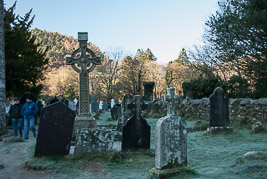 Irlandia - Glendalough - grudzień 2008