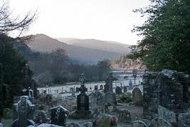 Irlandia - Glendalough - grudzieñ 2008