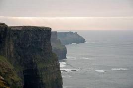 Irlandia - Klify Moher - styczeñ 2009