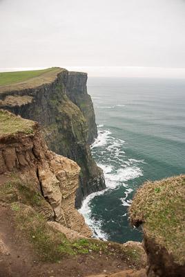 Irlandia - Klify Moher - styczeń 2009