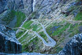 Norwegia - Droga Trolli - sierpieñ 2008