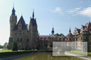 Polska - Moszna - sierpieñ 2010