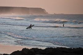 Wyspy Kanaryjskie - Fuerteventura - El Cotillo - listopad 2014