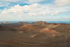 Wyspy Kanaryjskie - Lanzarote - Parque Nacional de Timanfaya - listopad 2014