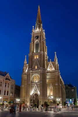 Serbia - Nowy Sad - sierpieñ 2011