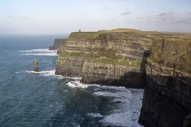 Irlandia - Klify Moher - styczeñ 2007