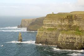 Irlandia - Klify Moher - styczeń 2007