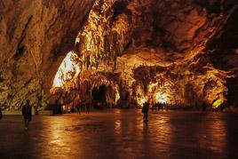 S³owenia - Postojna Jaskinia - sierpieñ 2007